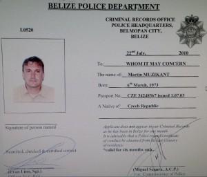 Martin Muzikant Police Rec 2